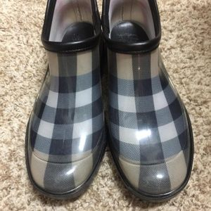 Burberry Nova Check Ankle Boots